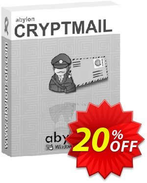 abylon CRYPTMAIL Coupon, discount 20% OFF abylon CRYPTMAIL, verified. Promotion: Big sales code of abylon CRYPTMAIL, tested & approved