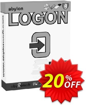 abylon LOGON Coupon, discount 20% OFF abylon LOGON, verified. Promotion: Big sales code of abylon LOGON, tested & approved