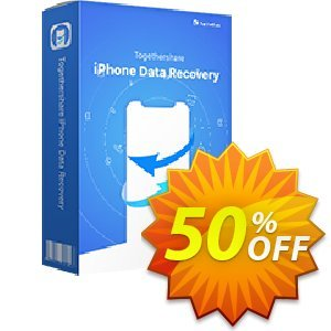 TogetherShare iPhone Data Recovery for Windows Coupon, discount win pro + win iphone. Promotion: