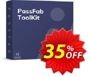 PassFab ToolKit 優惠券,折扣碼 35% OFF PassFab ToolKit, verified,促銷代碼: Staggering deals code of PassFab ToolKit, tested & approved