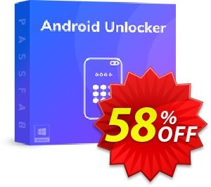 PassFab Android Unlocker Coupon discount 58% OFF PassFab Android Unlocker, verified. Promotion: Staggering deals code of PassFab Android Unlocker, tested & approved