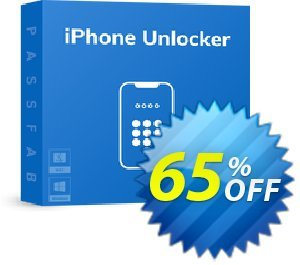 PassFab iPhone Unlocker discount coupon 65% OFF PassFab iPhone Unlocker, verified - Staggering deals code of PassFab iPhone Unlocker, tested & approved
