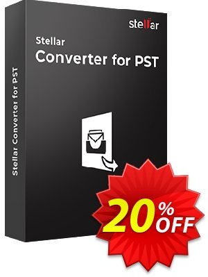 Stellar Outlook PST to MBOX Converter coupon (MAC) Coupon, discount Stellar Converter for PST - Mac [1 Year Subscription] stirring discounts code 2019. Promotion: NVC Exclusive Coupon