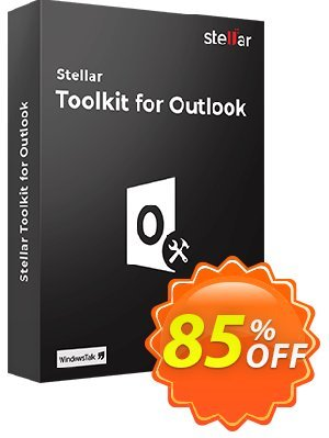 Stellar Outlook Toolkit Coupon, discount Stellar Toolkit for Outlook amazing discounts code 2019. Promotion: NVC Exclusive Coupon