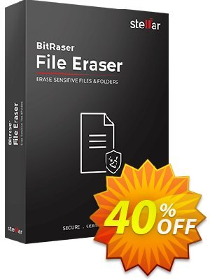 Bitraser file eraser discount coupon Stellar Bitraser for File [1 Year Subscription] formidable offer code 2021 - NVC Exclusive Coupon