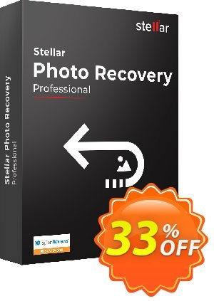 Get Stellar Photo Recovery Professional (MAC) 33% OFF coupon code