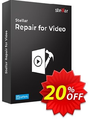 Stellar Phoenix Video Repair Coupon, discount Stellar Repair for Video Windows [1 Year Subscription] excellent promotions code 2019. Promotion: NVC Exclusive Coupon