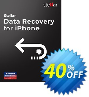 Stellar Data Recovery for iPhone (Mac) discount coupon 40% OFF Stellar Data Recovery for iPhone coupon (MAC), verified - Stirring discount code of Stellar Data Recovery for iPhone coupon (MAC), tested & approved
