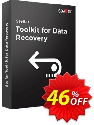 Stellar Data Recovery Toolkit discount coupon Stellar Data Recovery - Toolkit [1 Year Subscription] hottest deals code 2020 - NVC Exclusive Coupon