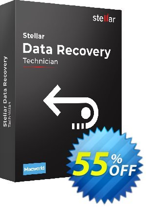 Stellar Data Recovery for MAC Technician discount coupon 20% off on all re-purchase(for Support Team) - 20% off on all re-purchase(for Support Team)