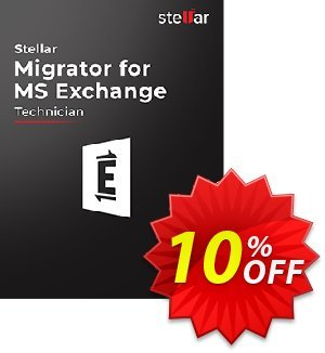Stellar Migrator for MS Exchange Technician (500 Mailbox) discount coupon Stellar Migrator for MS Exchange Technician(500 Mailbox) Wonderful discount code 2020 - Wonderful discount code of Stellar Migrator for MS Exchange Technician(500 Mailbox) 2020