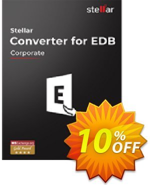 Stellar Converter for EDB Corporate (500 Mailboxes) Coupon, discount Stellar Converter for EDB Corporate{Upto 500 Mailboxes] Stirring discount code 2021. Promotion: Stirring discount code of Stellar Converter for EDB Corporate{Upto 500 Mailboxes] 2021