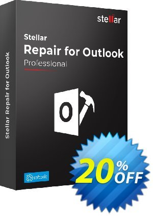 Stellar Repair for Outlook Coupon, discount Stellar Repair for Outlook stunning discount code 2020. Promotion: NVC Exclusive Coupon