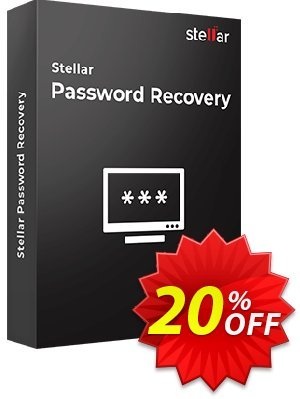 Stellar Password Recovery Coupon, discount Stellar Password Recovery stunning discount code 2021. Promotion: NVC Exclusive Coupon