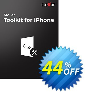 Stellar Data Recovery for iPhone Toolkit discount coupon Stellar Toolkit for iPhone-Windows Wondrous sales code 2020 - Wondrous sales code of Stellar Toolkit for iPhone-Windows 2020