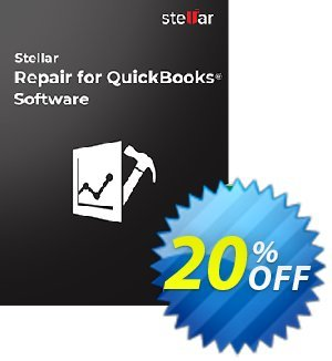 Stellar Repair for QuickBooks Software Technician + Professional File Repair Services Coupon, discount Stellar Repair for QuickBooks Software Technician + Professional File Repair Services Formidable discount code 2021. Promotion: Formidable discount code of Stellar Repair for QuickBooks Software Technician + Professional File Repair Services 2021