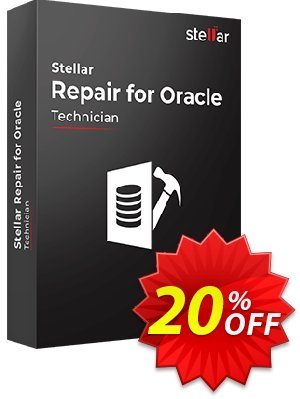 Stellar Phoenix Database Repair for Oracle Coupon, discount Stellar Repair for Oracle imposing discounts code 2020. Promotion: NVC Exclusive Coupon