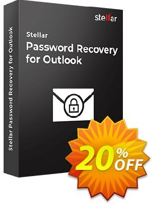 Stellar Password Recovery for Outlook Coupon, discount Stellar Password Recovery for Outlook [1 Year Subscription] staggering promo code 2021. Promotion: NVC Exclusive Coupon