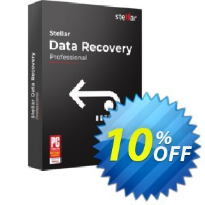 Stellar Data Recovery Professional Coupon discount Stellar Data Recovery - Windows Professional [1 Year Subscription] staggering sales code 2019 - NVC Exclusive Coupon