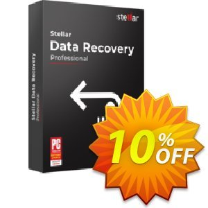 Stellar Data Recovery Professional Coupon, discount Stellar Data Recovery - Windows Professional [1 Year Subscription] staggering sales code 2021. Promotion: NVC Exclusive Coupon