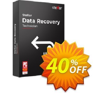 Stellar Data Recovery Technician Coupon discount Stellar Data Recovery - Windows Technician [1 Year Subscription] stirring offer code 2019 - NVC Exclusive Coupon