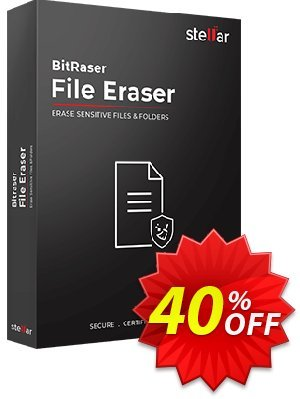 BitRaser For File 優惠券,折扣碼 Stellar Bitraser for File [1 Year Subscription] formidable offer code 2019,促銷代碼: NVC Exclusive Coupon BitRaser For File