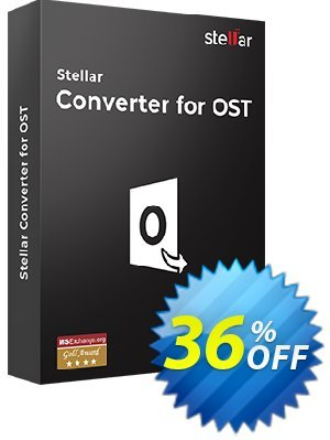 Stellar OST to PST Converter Coupon discount Massimo Marchese Discount @ 10% & Commission 20%. Promotion: NVC Exclusive Coupon