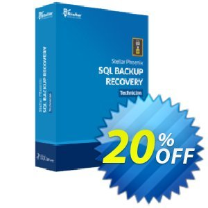Stellar Phoenix SQL Backup Recovery Coupon, discount Stellar Repair for SQL Backup  fearsome promo code 2019. Promotion: NVC Exclusive Coupon