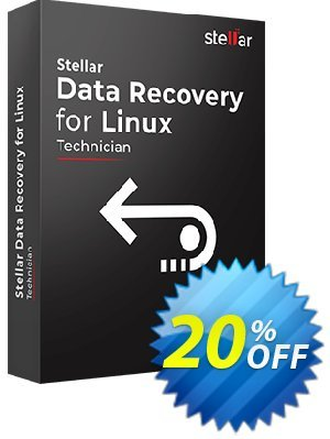 Stellar Phoenix Linux Data Recovery Coupon, discount Stellar Data Recovery for Linux excellent deals code 2020. Promotion: NVC Exclusive Coupon