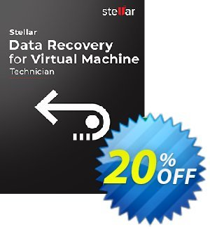 Get Stellar Data Recovery for Virtual Machine 20% OFF coupon code
