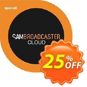 Spacial SAM Broadcaster CLOUD discount coupon 25% OFF Spacial SAM Broadcaster CLOUD, verified - Amazing promo code of Spacial SAM Broadcaster CLOUD, tested & approved