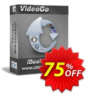 iDealshare VideoGo for Mac Coupon discount 50% off iDealshare VideoGo coupon -