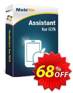 MobiKin Assistant for iOS产品销售 50% OFF