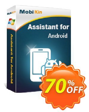 MobiKin Assistant for Android (1 Year) offering sales 50% OFF. Promotion: