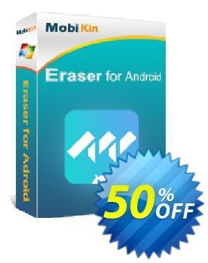 MobiKin Eraser for Android - Lifetime, 21-25PCs License 프로모션 코드 50% OFF 프로모션:
