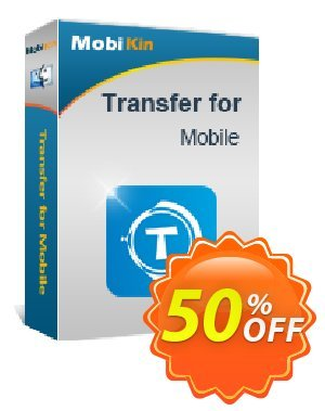 MobiKin Transfer for Mobile (Mac Version) - 1 Year, 1 PC License discount coupon 50% OFF -