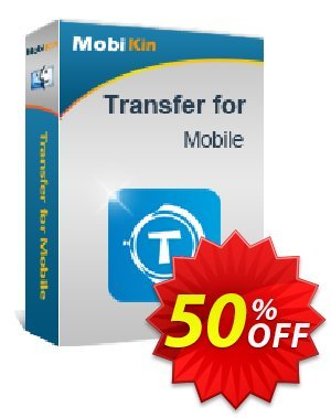 MobiKin Transfer for Mobile (Mac Version) - 1 Year, 6-10PCs License discount coupon 50% OFF -