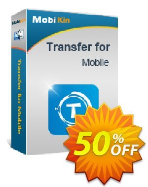 MobiKin Transfer for Mobile (Mac Version) - 1 Year, 11-15PCs License discount coupon 50% OFF -