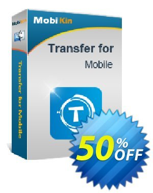 MobiKin Transfer for Mobile (Mac Version) - 1 Year, 26-30PCs License discount coupon 50% OFF -