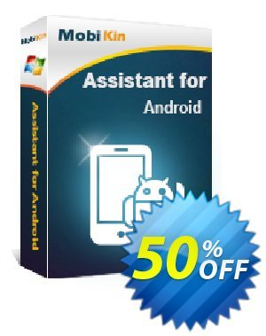 MobiKin Assistant for Android - Lifetime, 11-15PCs License Coupon discount 50% OFF. Promotion: