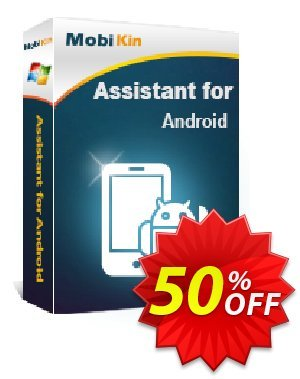 MobiKin Assistant for Android - Lifetime, 11-15PCs License Coupon, discount 50% OFF. Promotion: