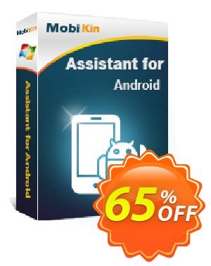 MobiKin Assistant for Android - 1 Year, 2-5 PCs License discount coupon 50% OFF -
