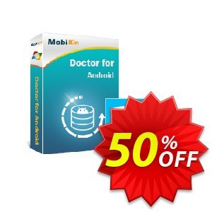MobiKin Doctor for Android - 1 Year, 3 Devices, 1 PC License discount coupon 50% OFF -