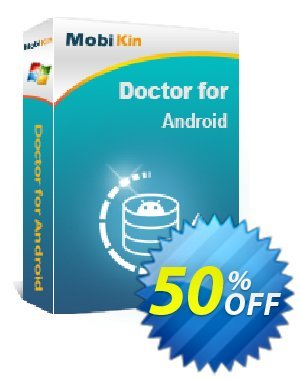 MobiKin Doctor for Android - Lifetime, 3 Devices, 1 PC License discount coupon 50% OFF -