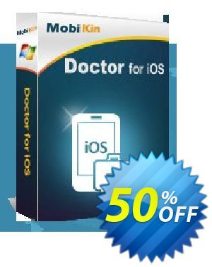 MobiKin Doctor for iOS Coupon discount 50% OFF. Promotion: