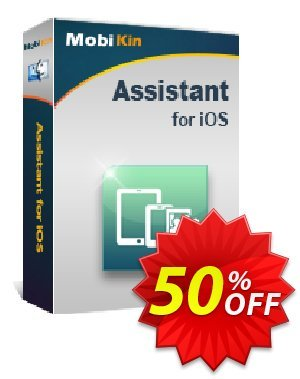 MobiKin Assistant for iOS (Mac) - 1 Year, 16-20PCs License 優惠券,折扣碼 50% OFF,促銷代碼: