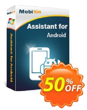MobiKin Assistant for Android - 1 Year, 200 Licenses Coupon discount 50% OFF. Promotion: