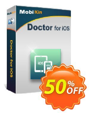 MobiKin Doctor for iOS (Mac) discount coupon 50% OFF -