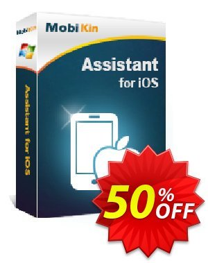 MobiKin Assistant for iOS - 1 Year, 11-15PCs License Coupon, discount 50% OFF. Promotion: