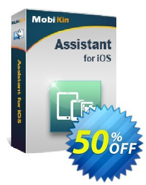 MobiKin Assistant for iOS (Mac Version) - Lifetime, 26-30PCs License discount coupon 50% OFF -